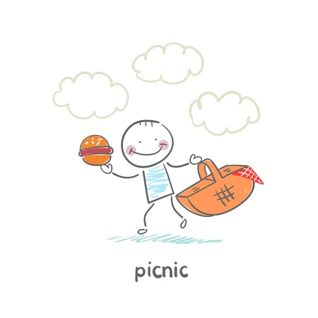 aciculum: Picnic Illustration