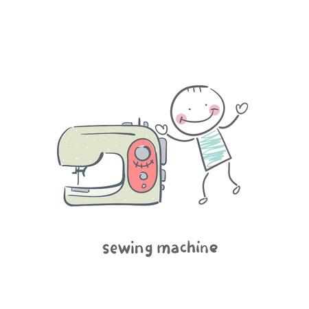 maquinas de coser: la máquina de coser