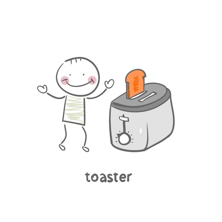 toaster Stock Vector - 18953346
