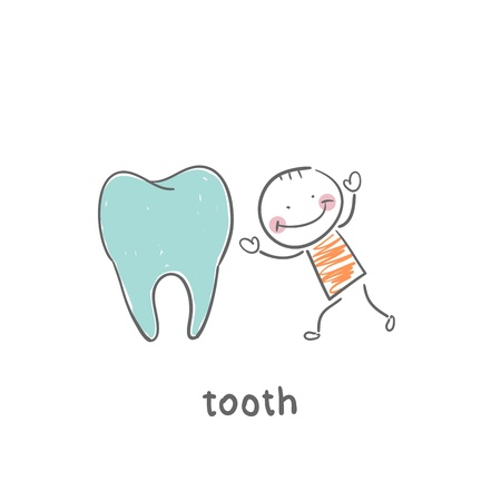 teeth cleaning: tooth