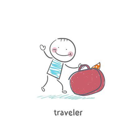 traveler Vector