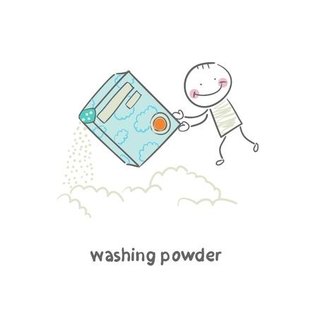 washing powder: washing powder