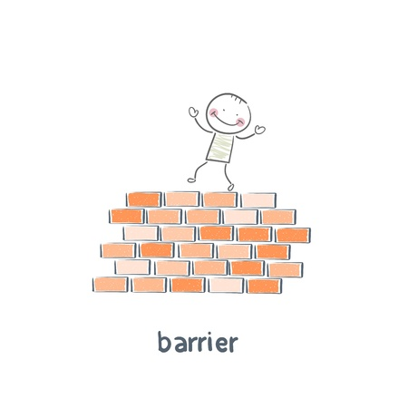 getting away from it all: barrier