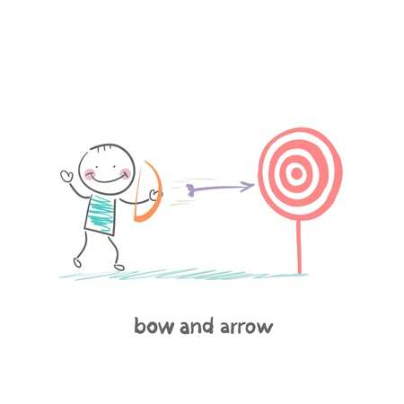 indigenous medicine: Bow and arrow