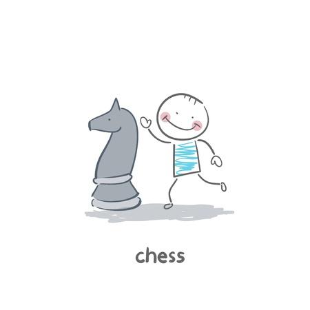 art piece: chess