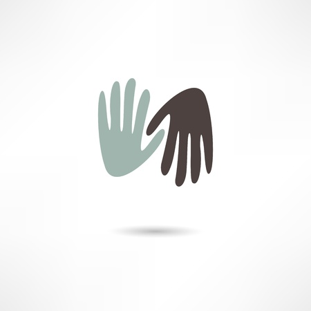 hands icon Stock Vector - 19150969