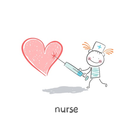 Nurse Stock Vector - 19150873
