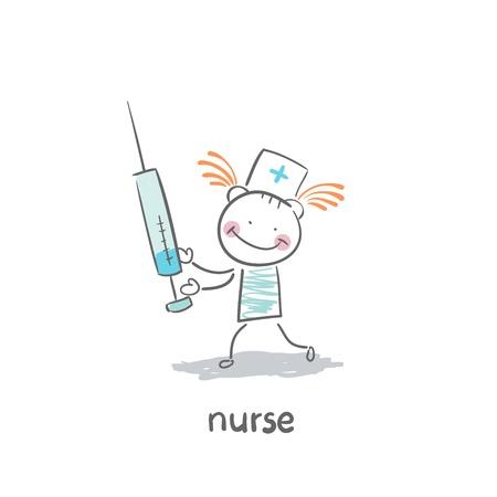 Nurse Stock Vector - 19150802