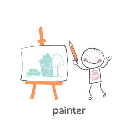 french culture: Painter