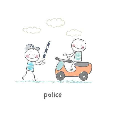 police Stock Vector - 19150900