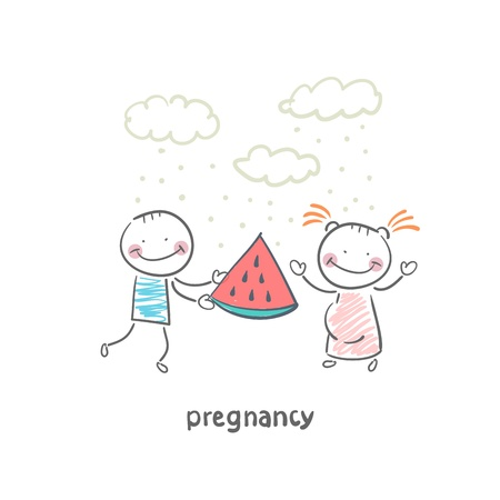 pregnancy Stock Vector - 19150867