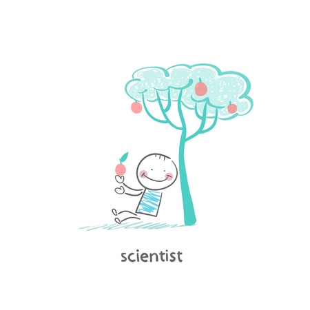 scientist Stock Vector - 19150893