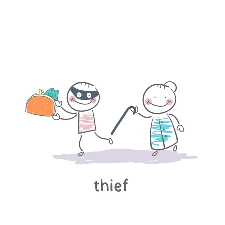 Thief Stock Vector - 19150876