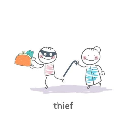 Thief Stock Vector - 19150876