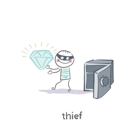 thief Stock Vector - 19150897