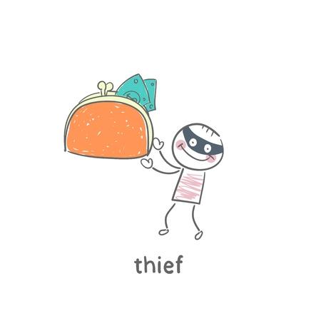 Thief Stock Vector - 19150853