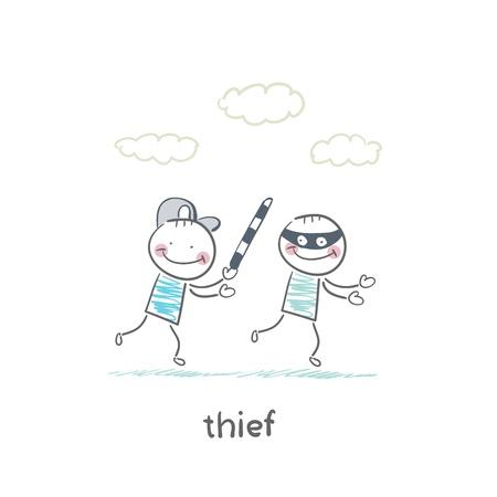 thief Stock Vector - 19150856