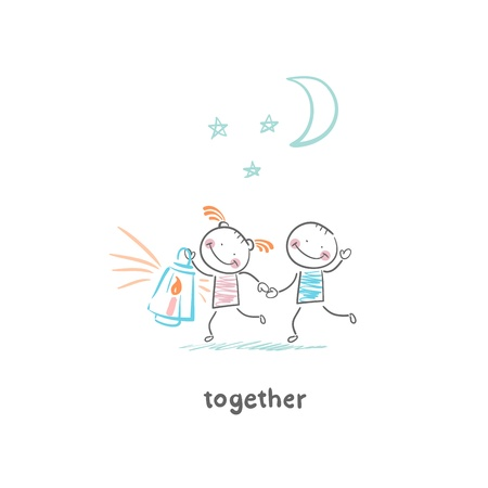 Couple in love 版權商用圖片 - 19150842