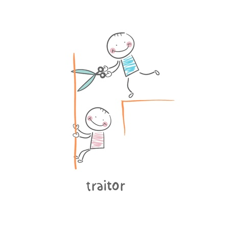 stabbed: traitor