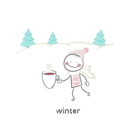 wintry: winter