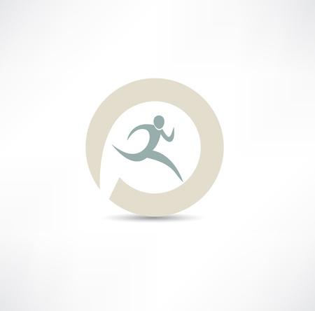runner icon Imagens - 19601395