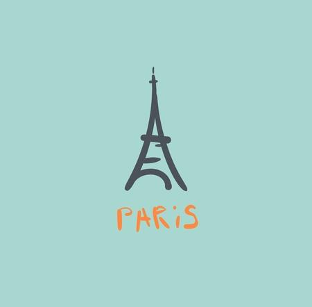 Eiffelturm Symbol