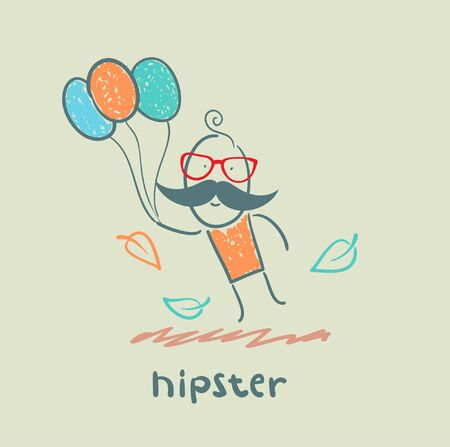 hipster Stock Vector - 21445825