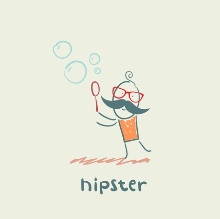 hipster Stock Vector - 21445829