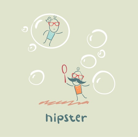 hipster Stock Vector - 21445831