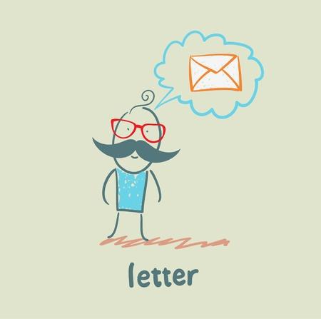 letter Stock Vector - 21446227