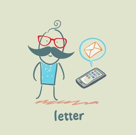 letter Stock Vector - 21446222