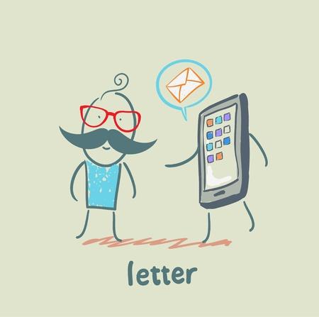 letter Stock Vector - 21446239