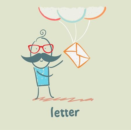 letter Stock Vector - 21446223