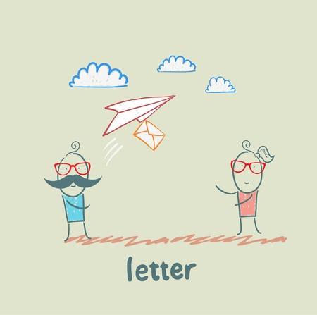 letter Stock Vector - 21446230