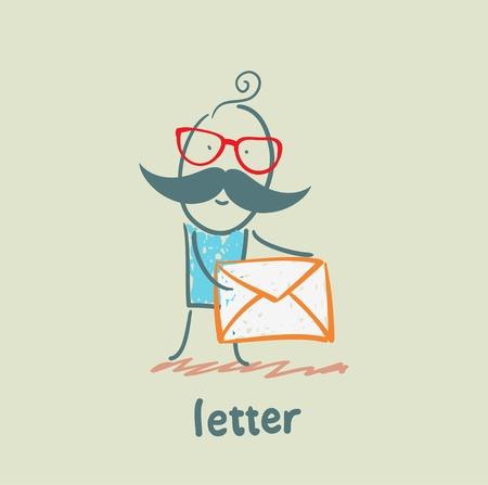 letter Stock Vector - 21446225