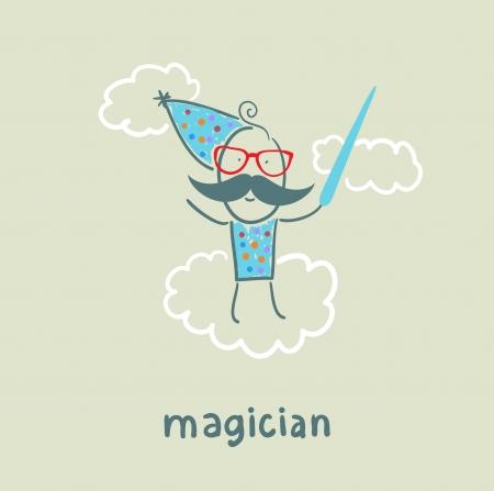 performing arts event: magician