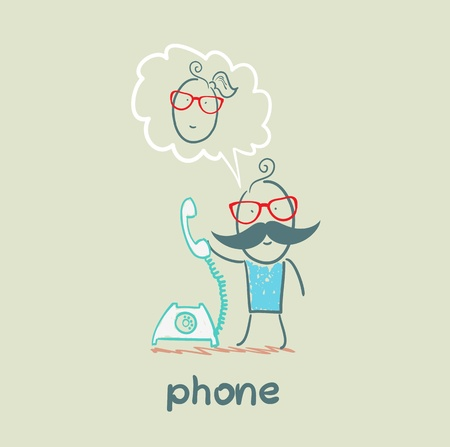 phone Stock Vector - 21447951