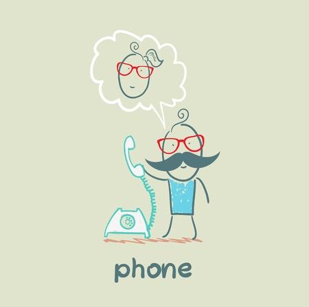 phone Illusztráció