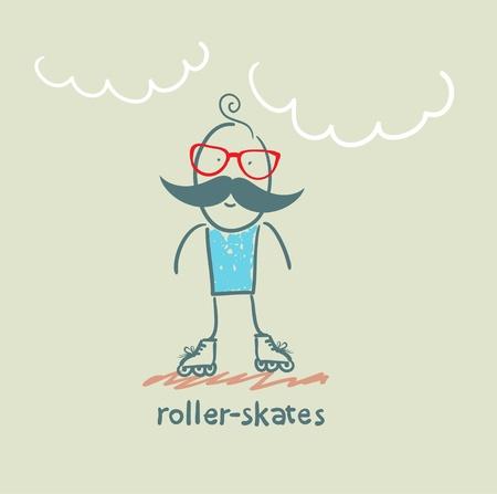 roller skates: roller-skates