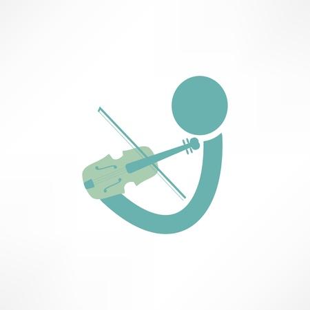 violinist: violinist icon