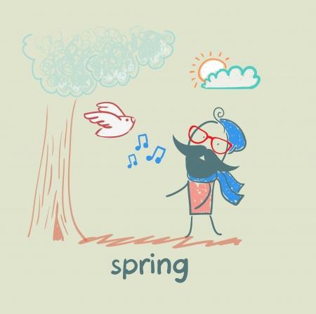 spring Иллюстрация