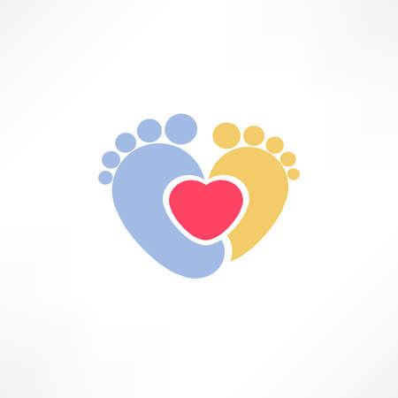 boy feet: Baby foot