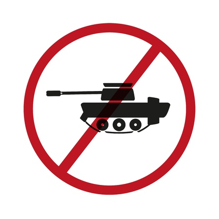 No tanks symbol Stock Vector - 21418922