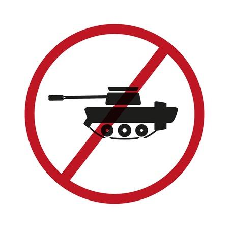No tanks symbol Stock Vector - 21418922