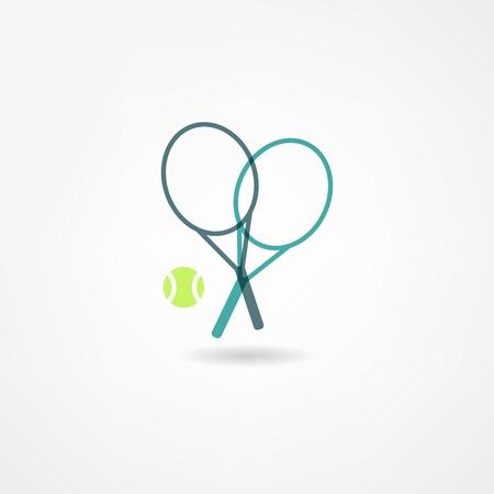 tennis serve: tennis icon