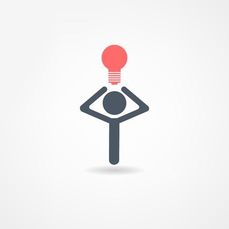 gedachten icoon Stock Illustratie