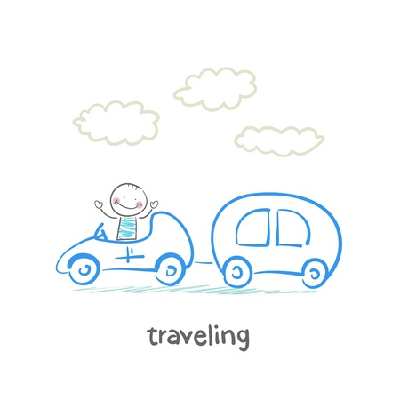 traveling Stock Vector - 21449403