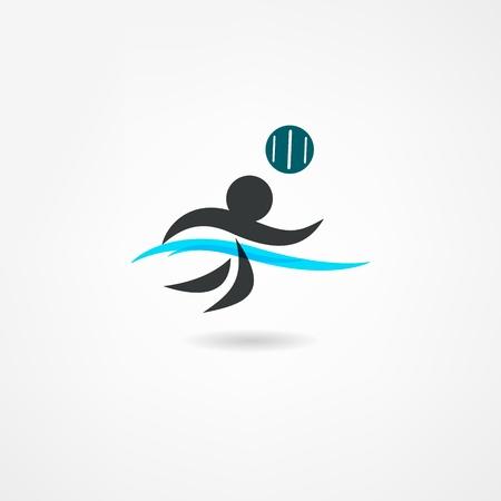 waterpolo: icono de waterpolo