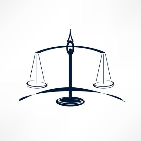 dama de la justicia: escalas de la justicia