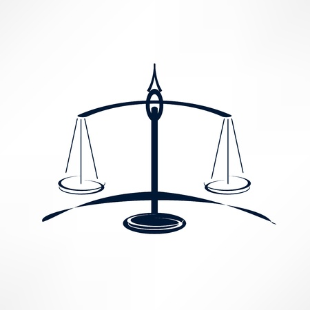 scales of Justice Stock Vector - 21449678